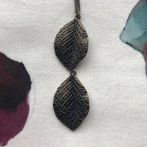Jewelry - Duo Leaf Necklace